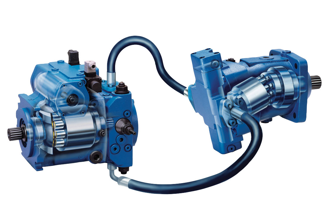 Hydrostatic drive bypass control
